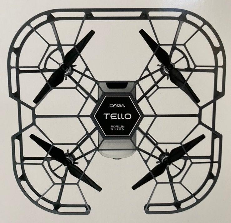 DJI drone proppeler crash cage