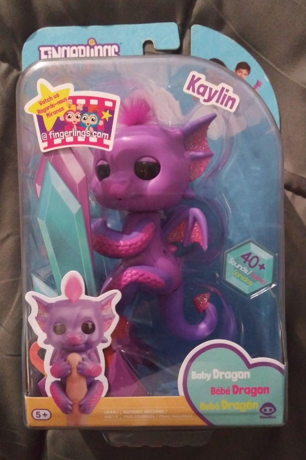 Fingerlings Baby Dragon - Kaylin