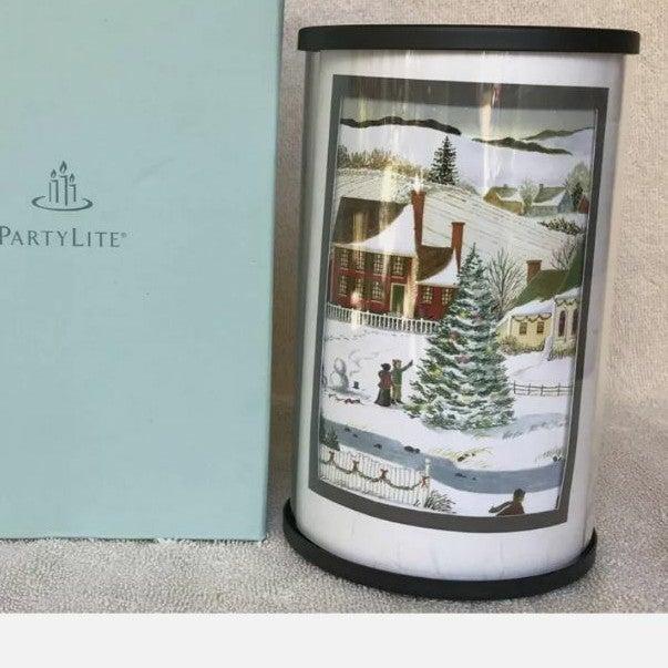 Partylite Christmas Photo Luminary NEW