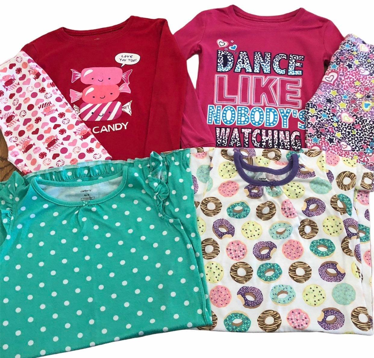 Girls 6-7 Pajama Sets NightGowns  Carter