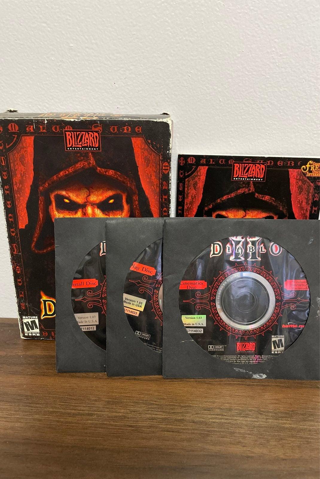 Diablo 2 PC game complete in box