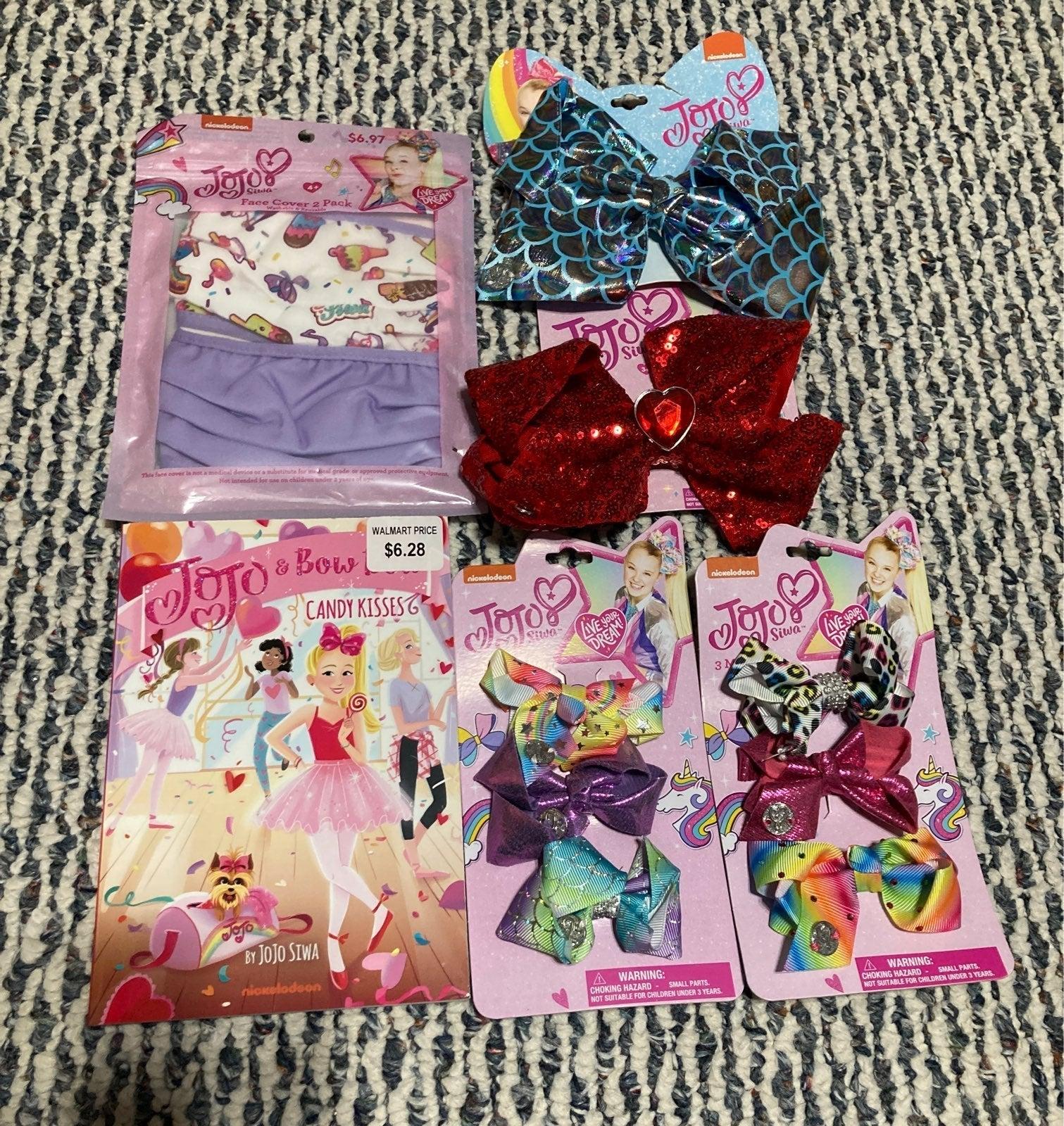 Jojo siwa bows mini bundle