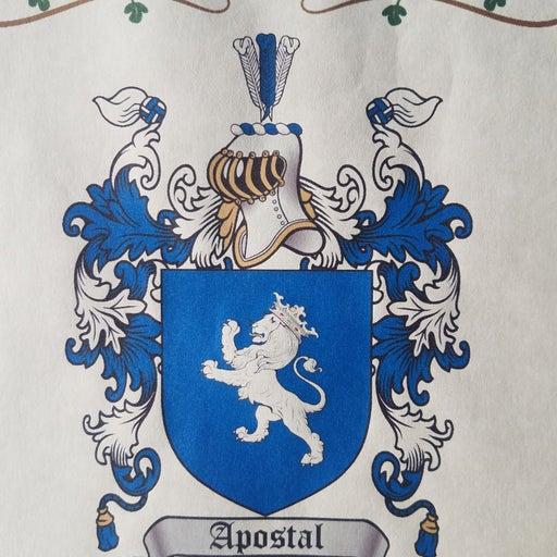 Family Crest - Apostal