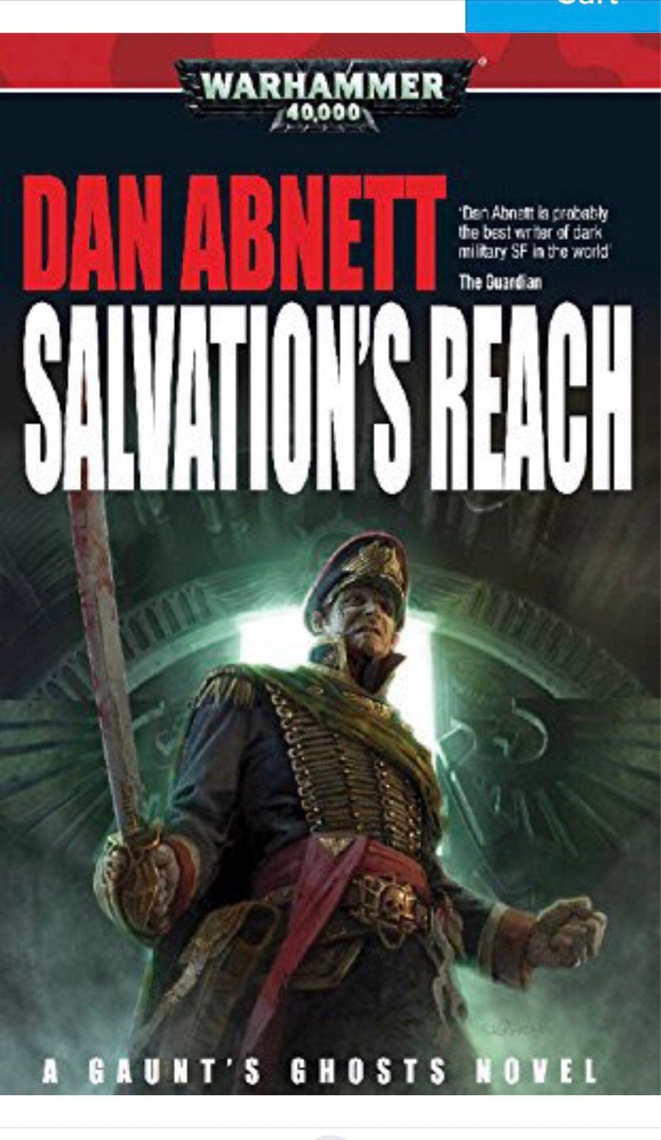 Salvation's Reach by Dan Abnett, Warhammer 40,000 book