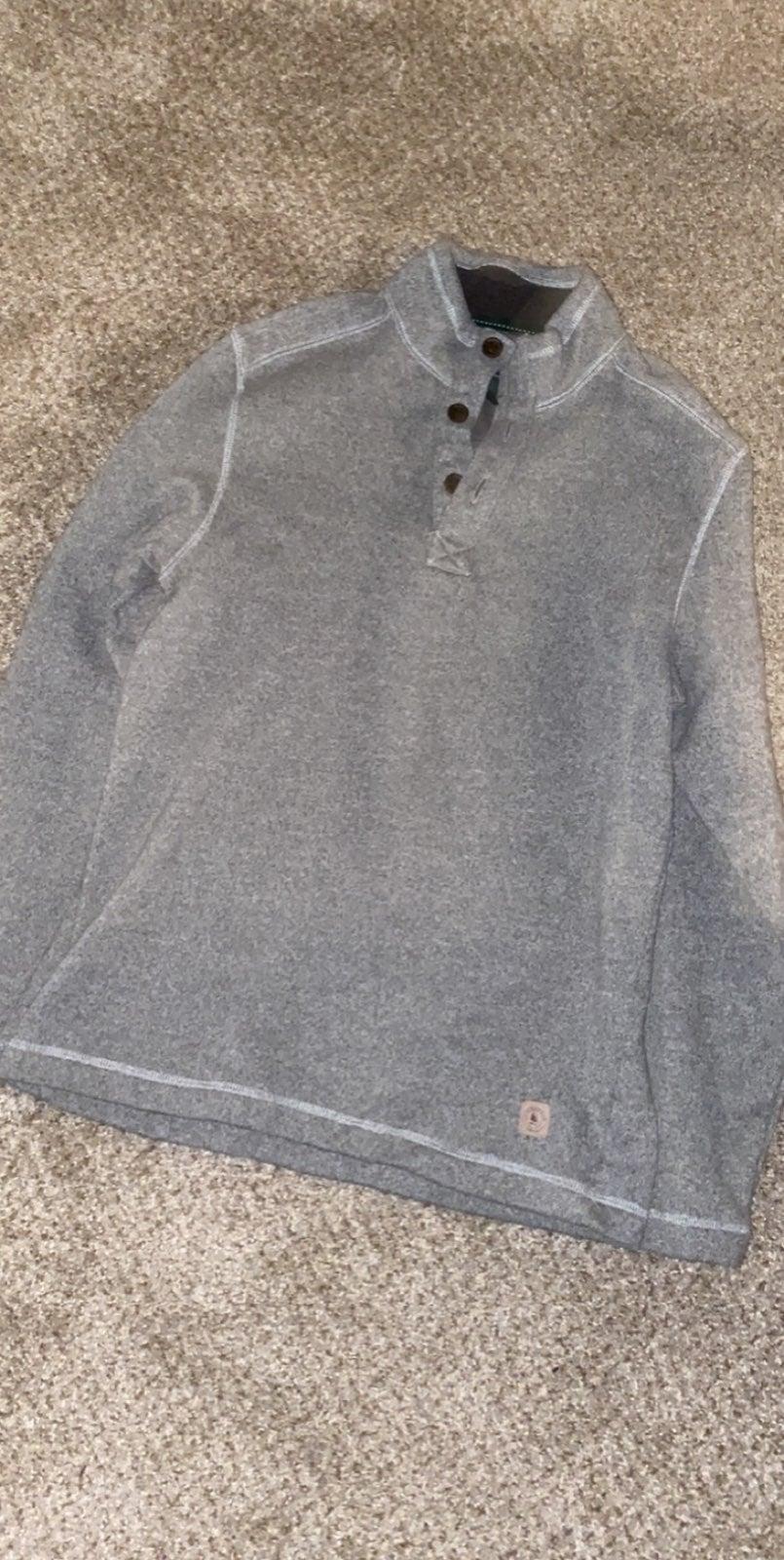 Grey Pullover Jacket
