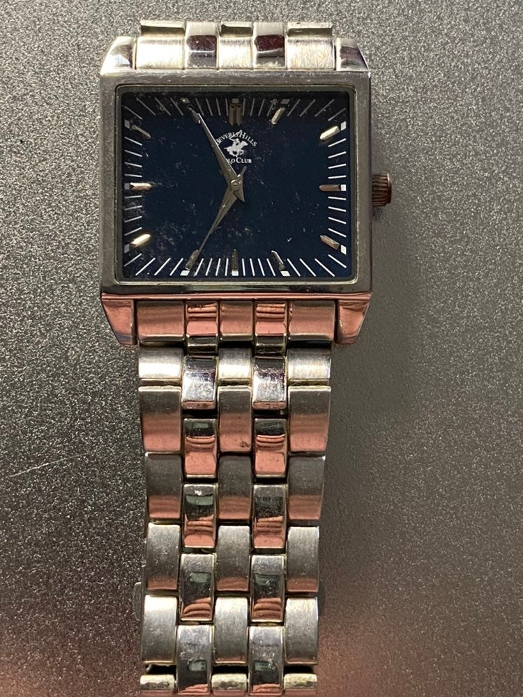 Us polo silver mens watch