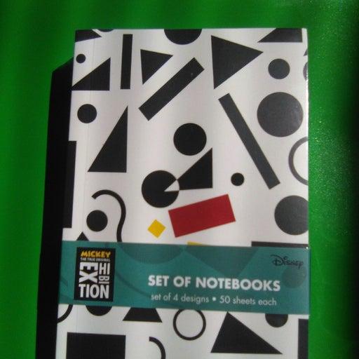 disney set of four notebooks