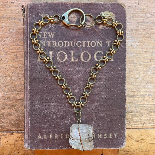 Petalite Crystal Choker Necklace