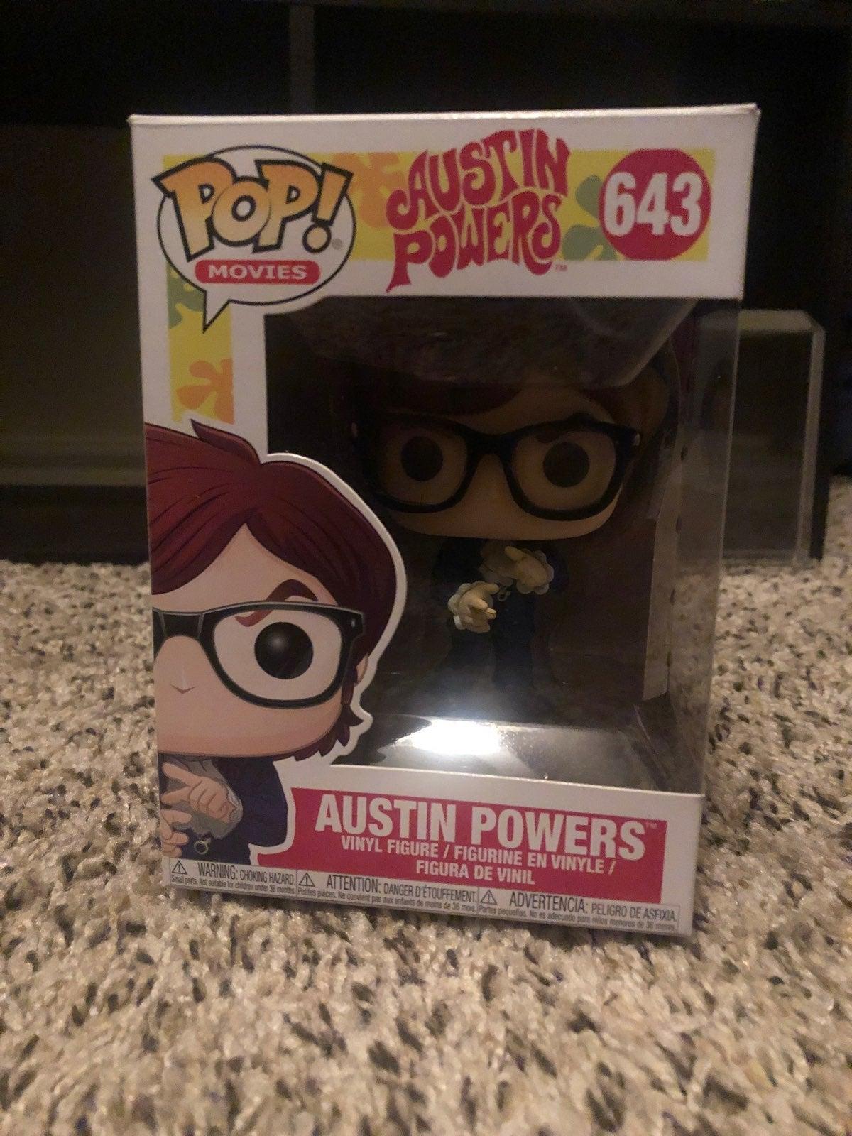 Funko Pop Austin Powers