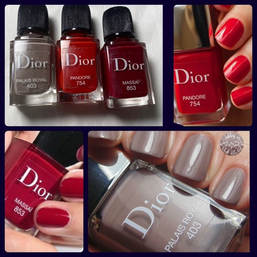 Dior Nail Polish Bundle