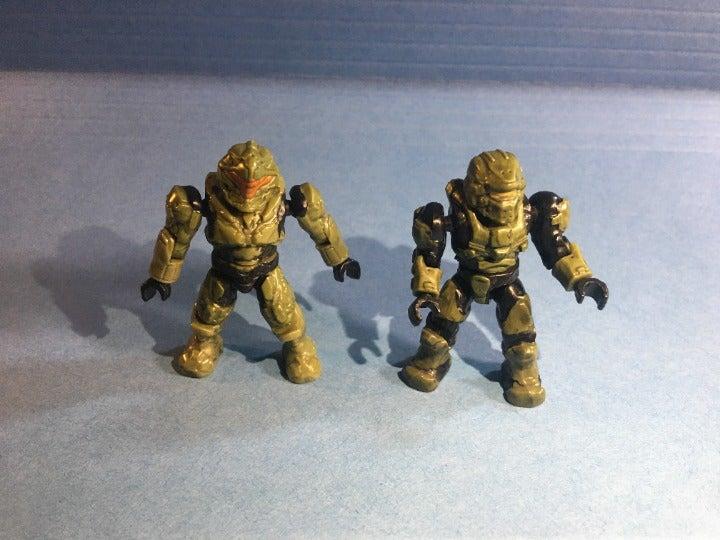Mega Bloks Halo Green Spartan Duo
