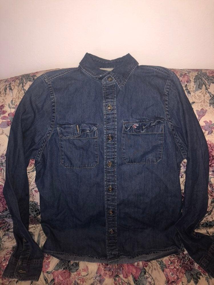 Hollister jean jacket.