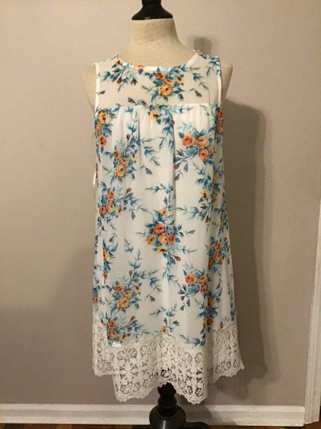 As u wish womens floral dress small