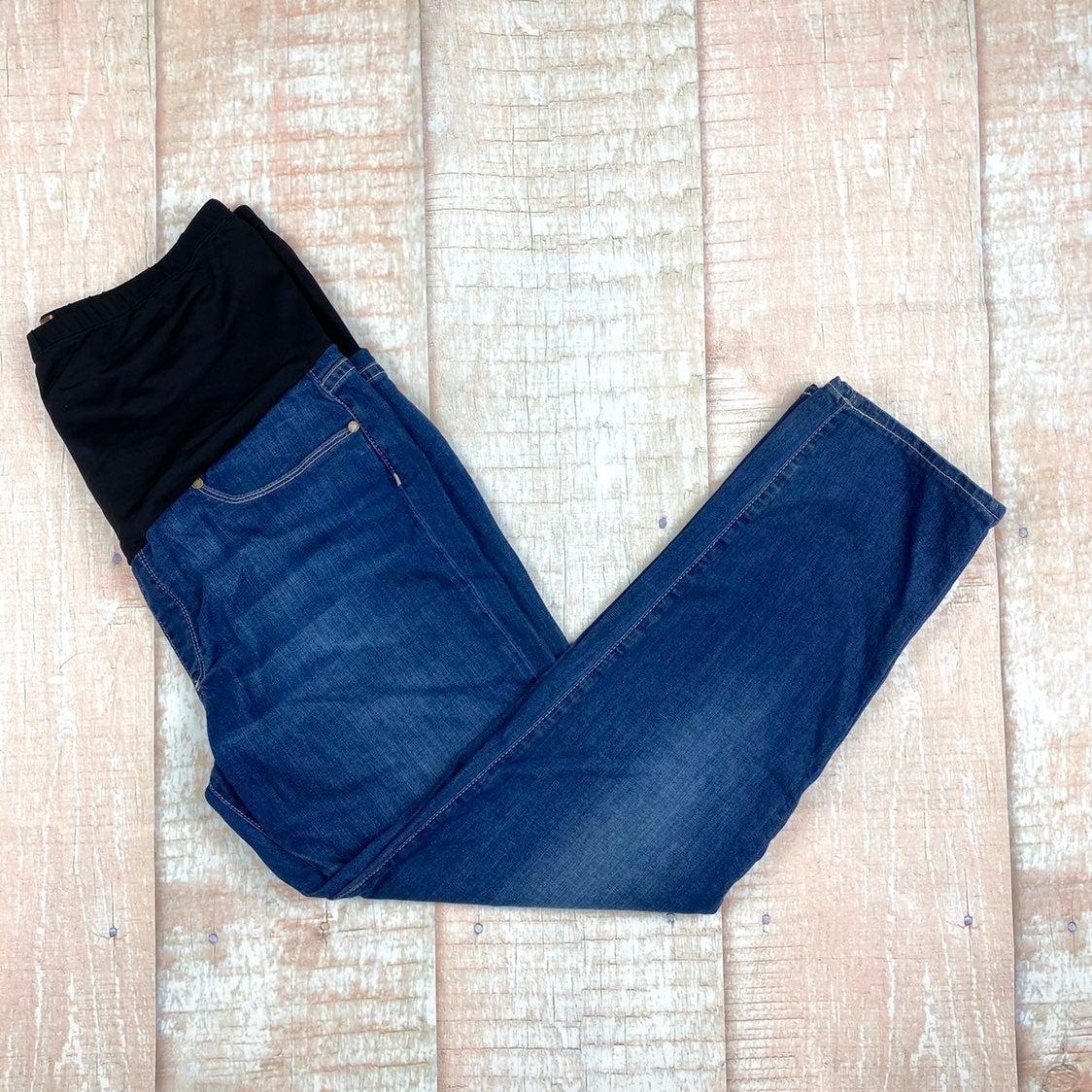 Paige Denim Maternity Jeans- Medium Wash