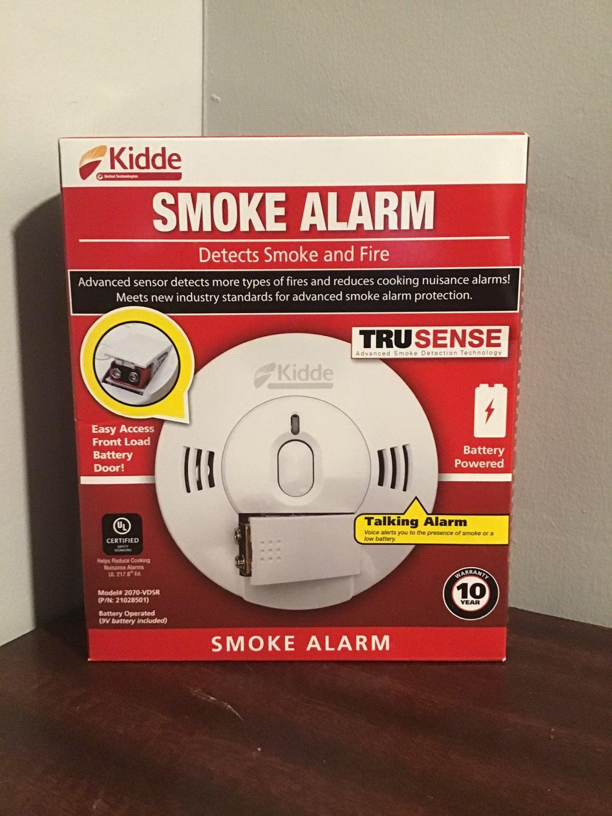 Kidde Talking Smoke Alarm