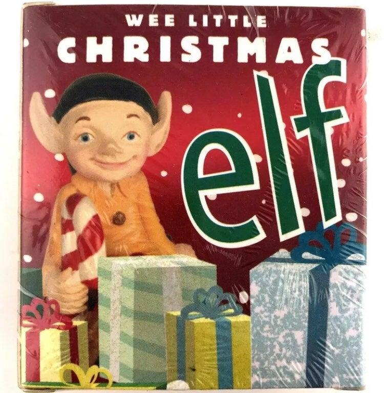 Wee Little Christmas Elf Mini Kit Book