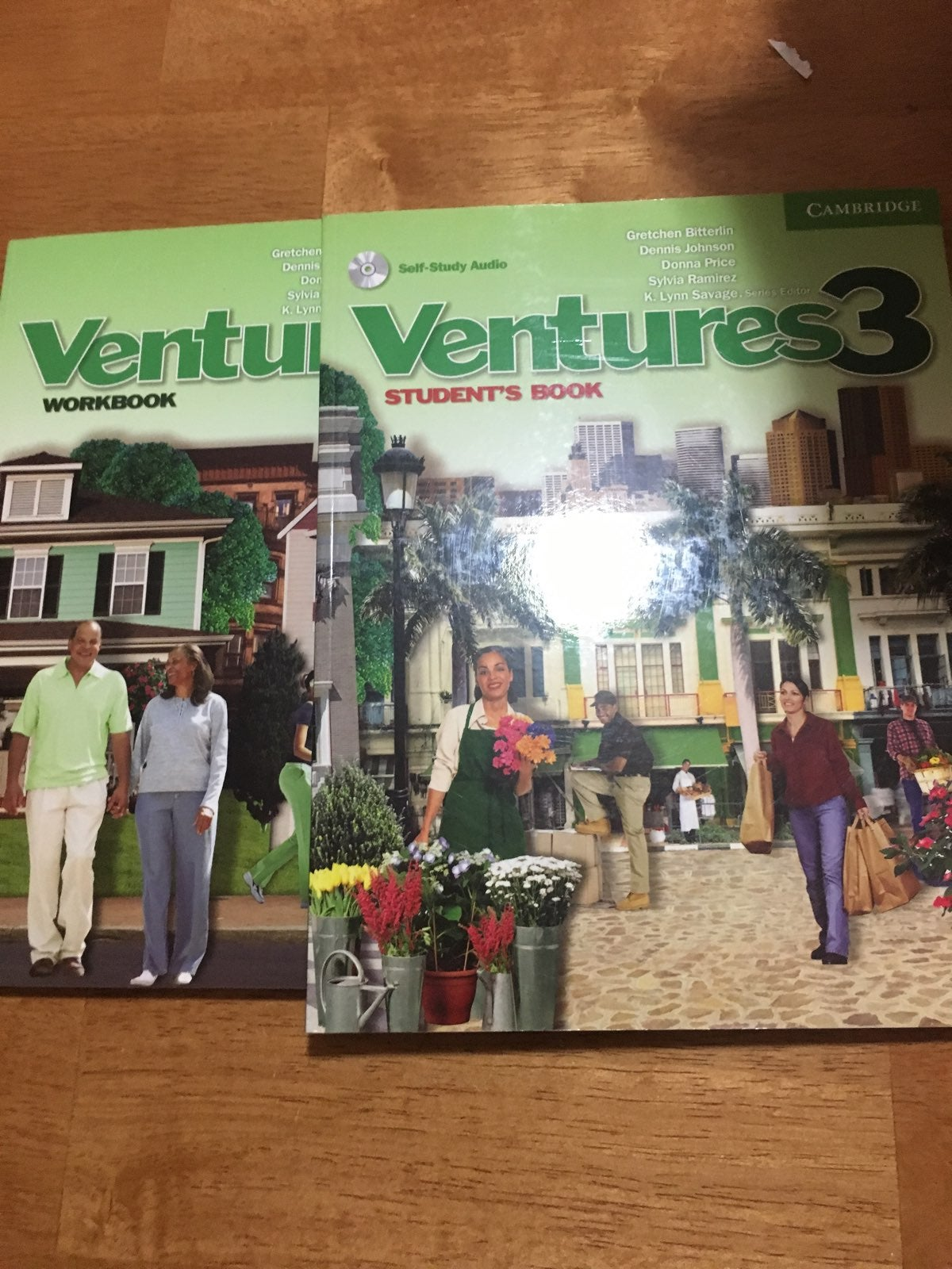 Ventures 3 Workbook And Student Book