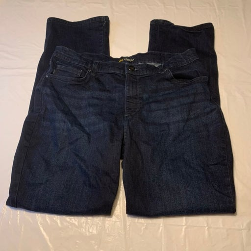 Lee Relaxed Straight Leg Jeans 16 Long