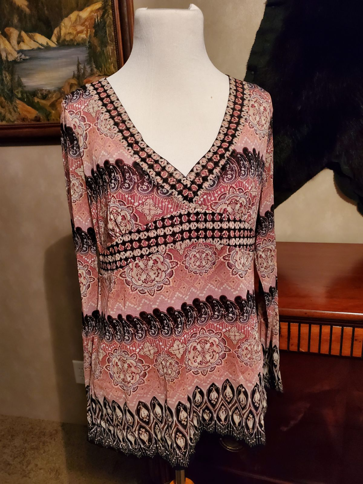 NWT Axcess Womens top