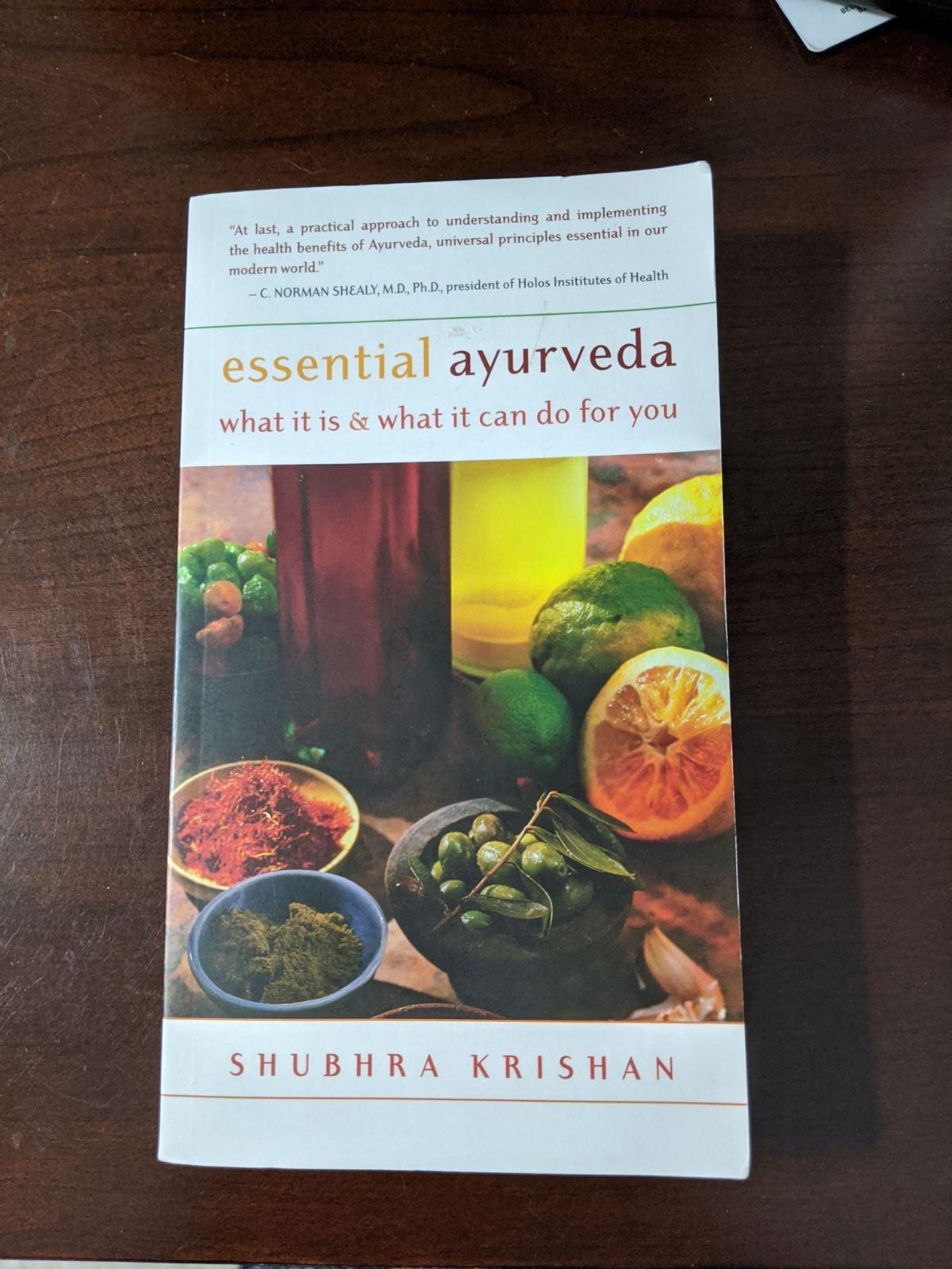 Essential Ayurveda Paperback