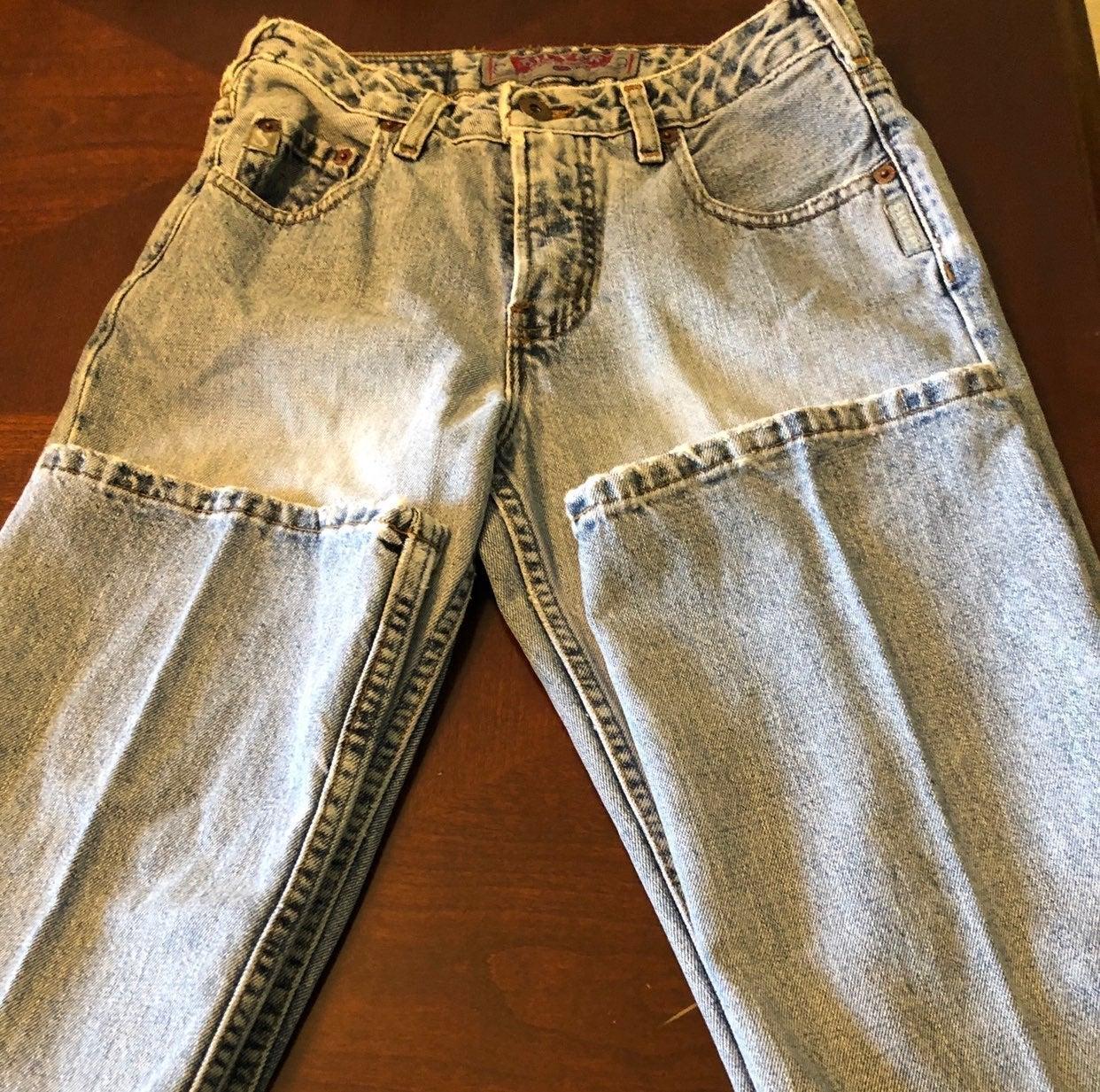 Vintage Silver Jeans Boyfriend