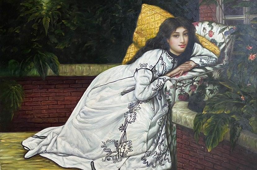 'Persian Virgin on a Veranda'