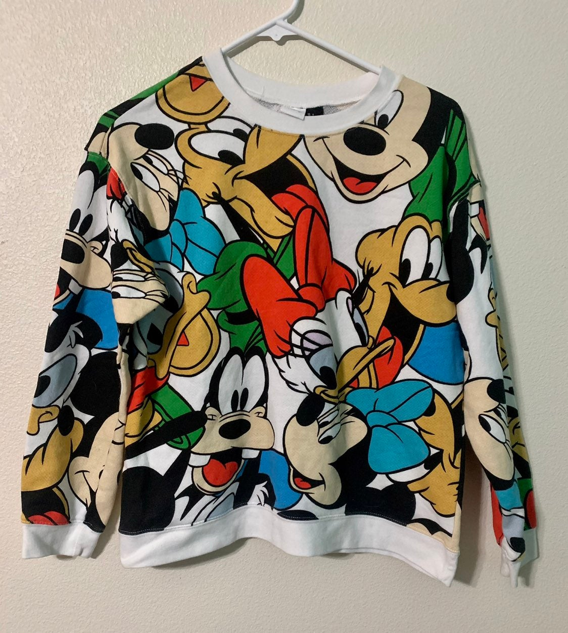Womens small Disney long sleeve shirt