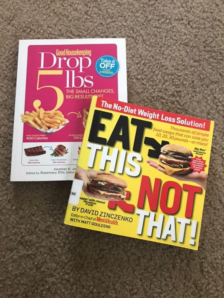 DIET/WEIGHT LOSS BOOKS