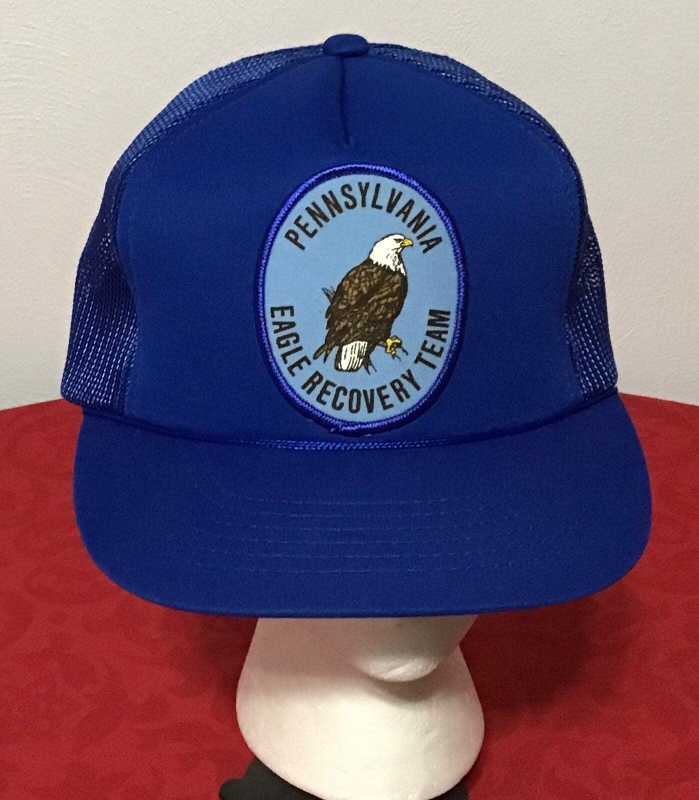 Pennsylvania Eagle Recovery Team Hat VTG