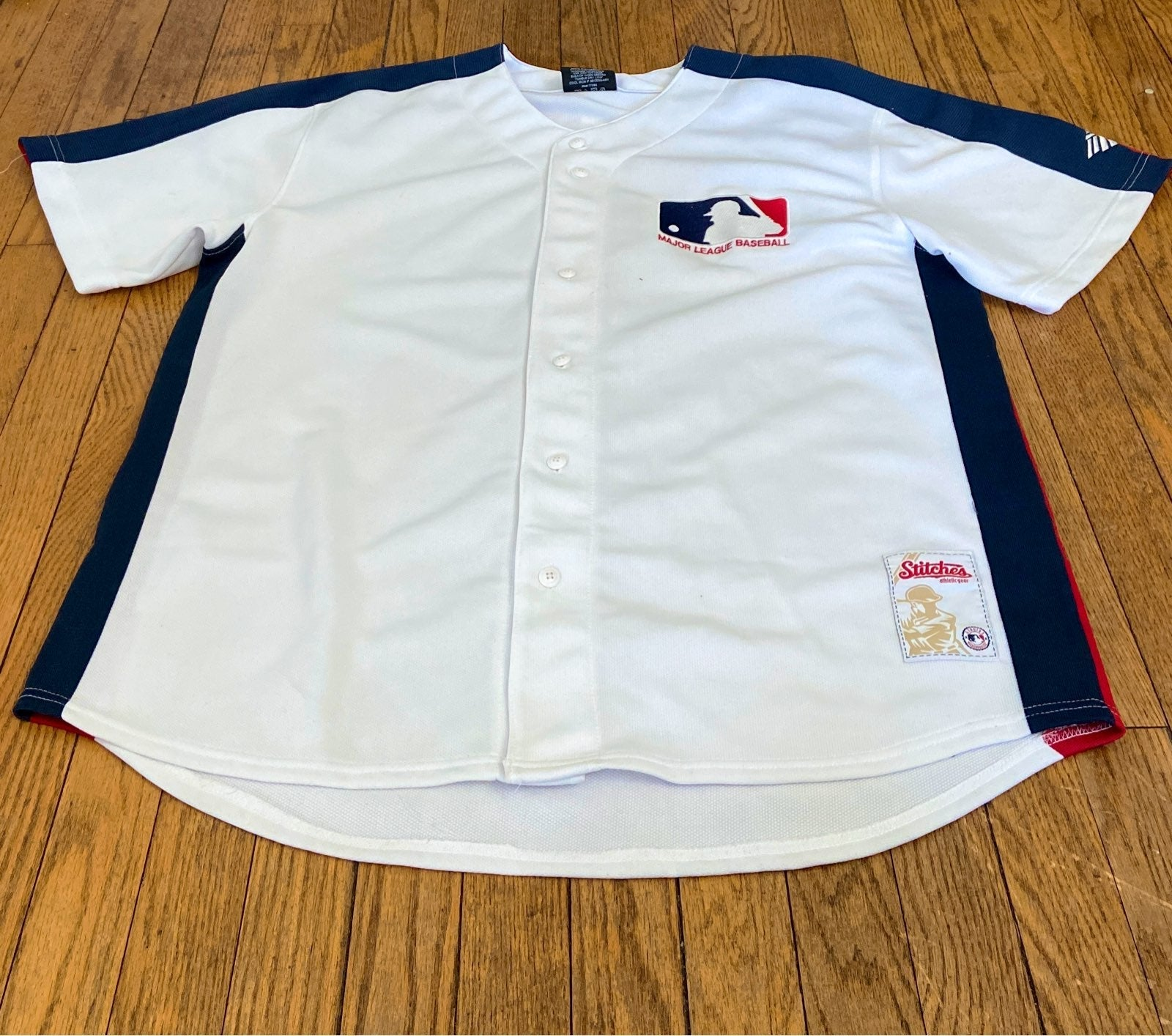 NWT MLB Stitches Genuine Merch Jersey