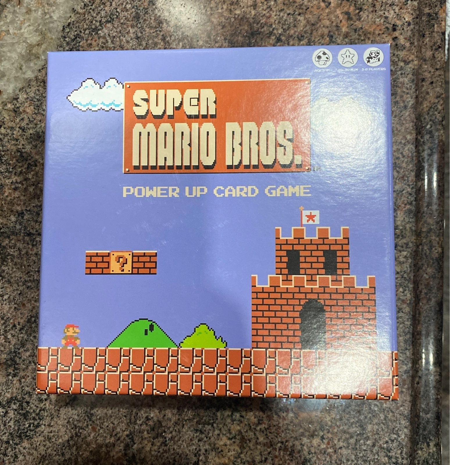 Super Mario Bros Power Up Card Game