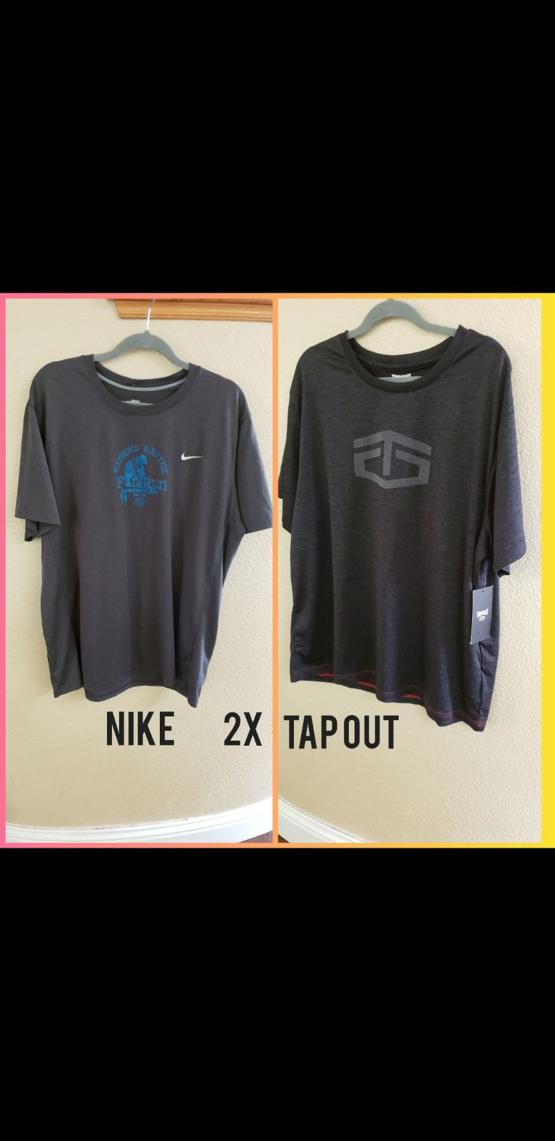 Men's Bundle of New Tap Out Tee & Nike F