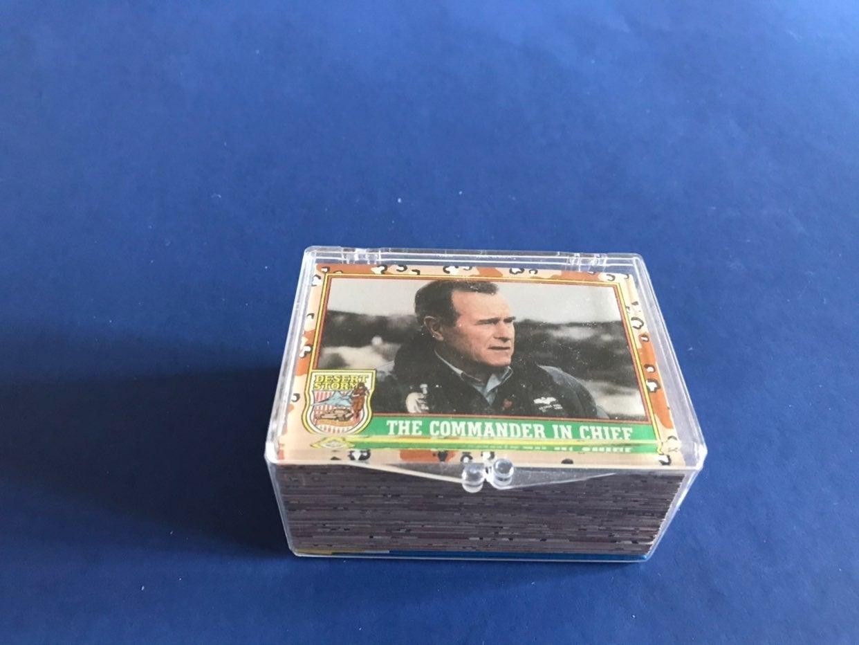1991 Desert Storm card set 1-88 series 1
