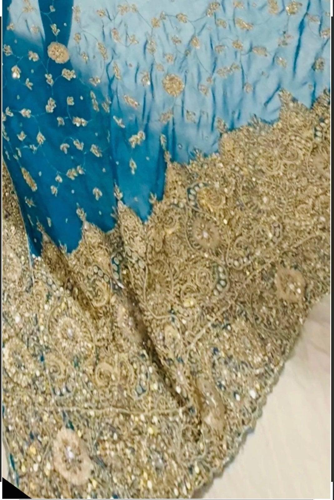 indian heavy saree