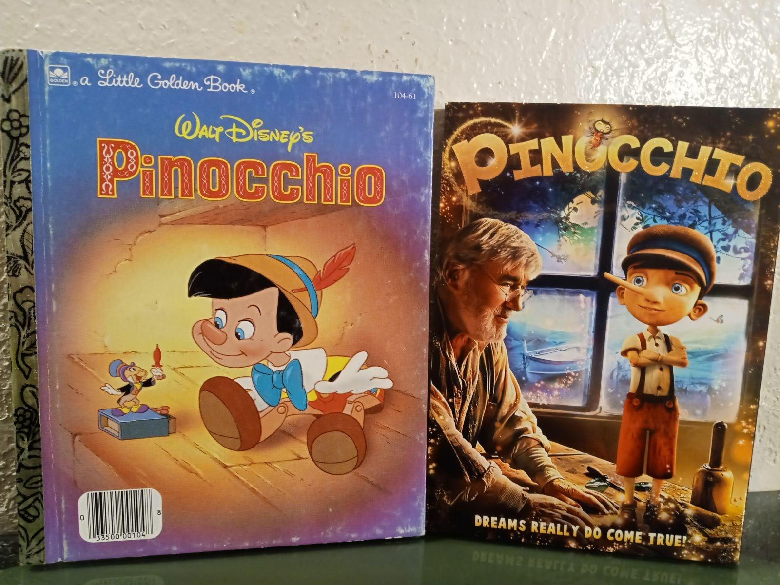 Disney pinocchio book & DVD