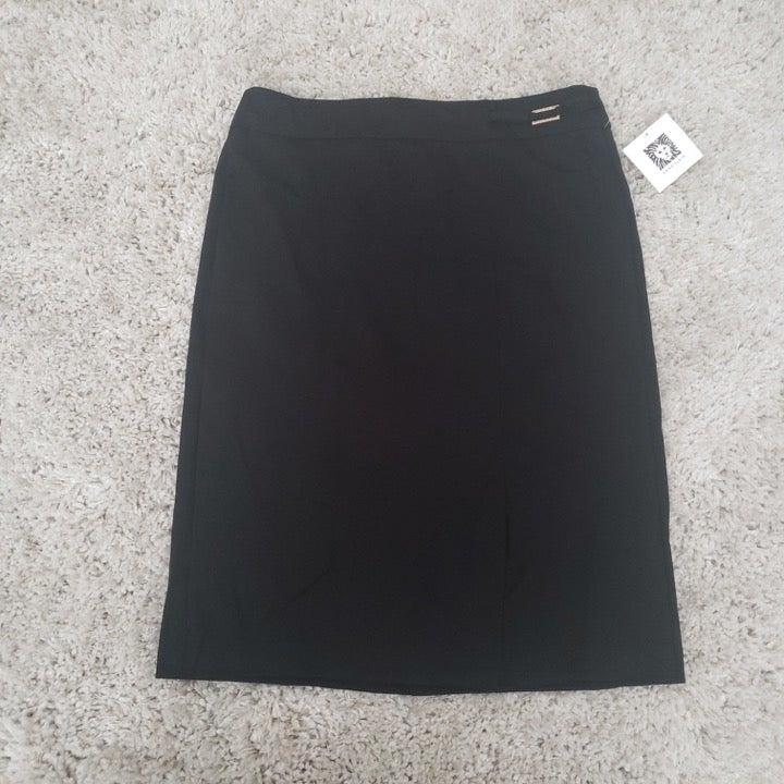 Anne Klein Wear to work Black Skirt (M)