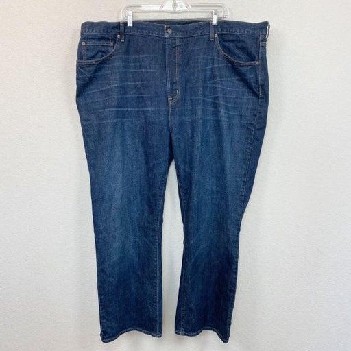Cremieux Relaxed Fit Denim Blue Jeans 100% Cotton Mens size 48x30