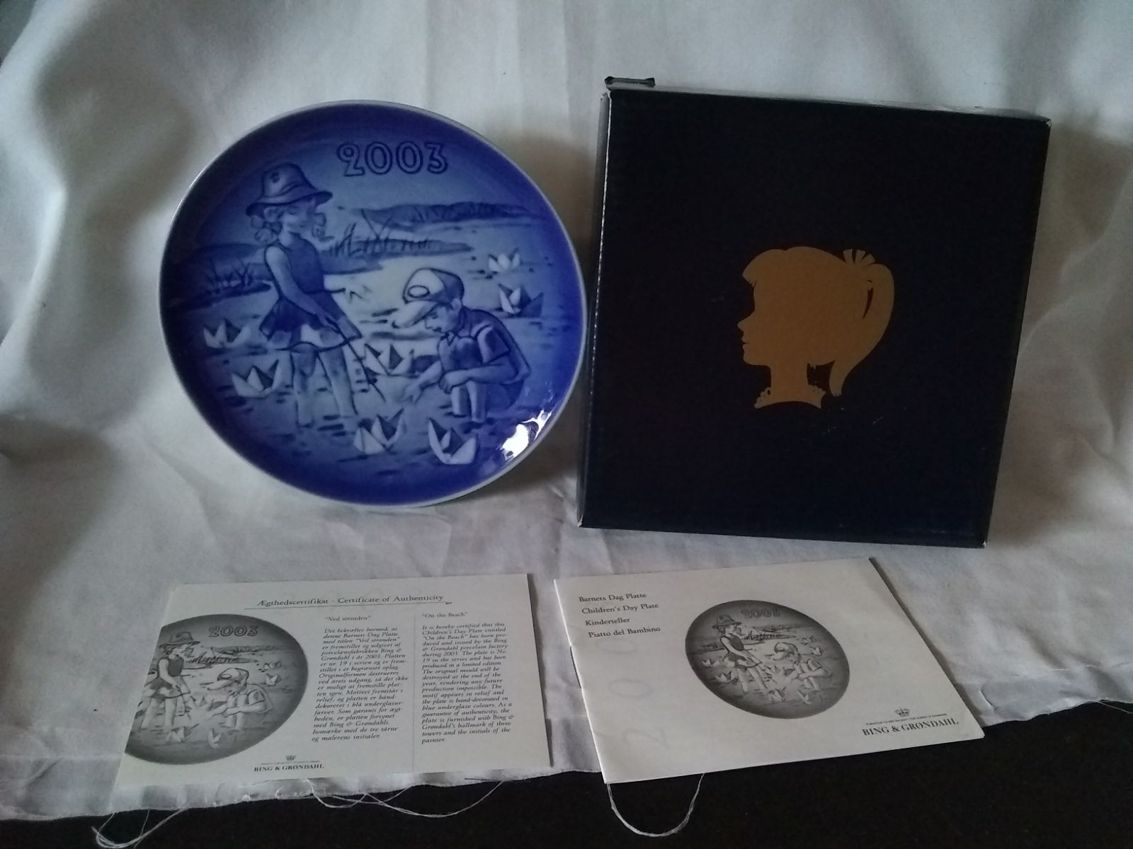 2003 Children's Day Collectors Plate