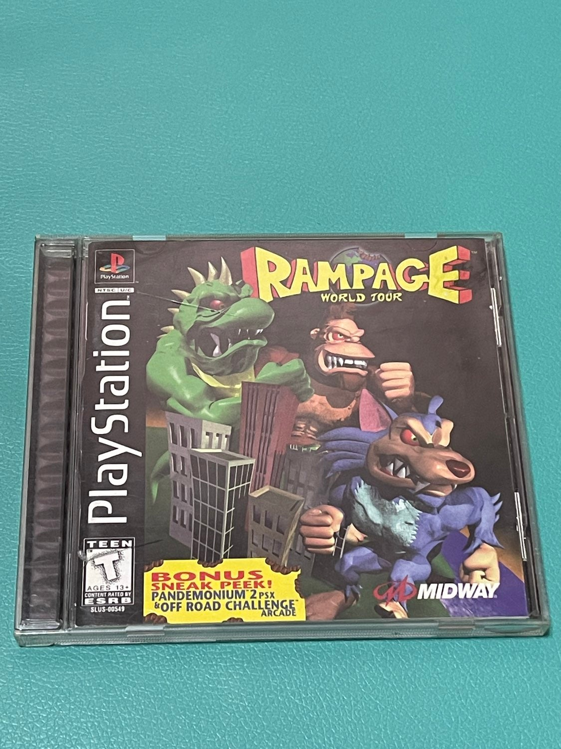 Rampage: World Tour on Playstation 1 Ps1
