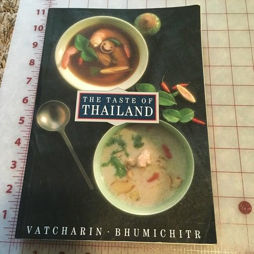 The taste of thailand cookbook