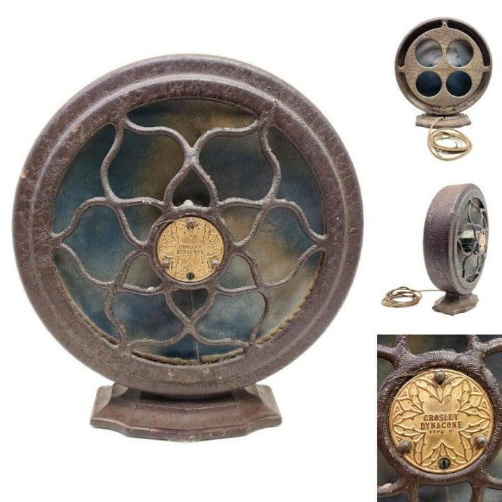 Untested Vintage 1920's Crosley Speaker