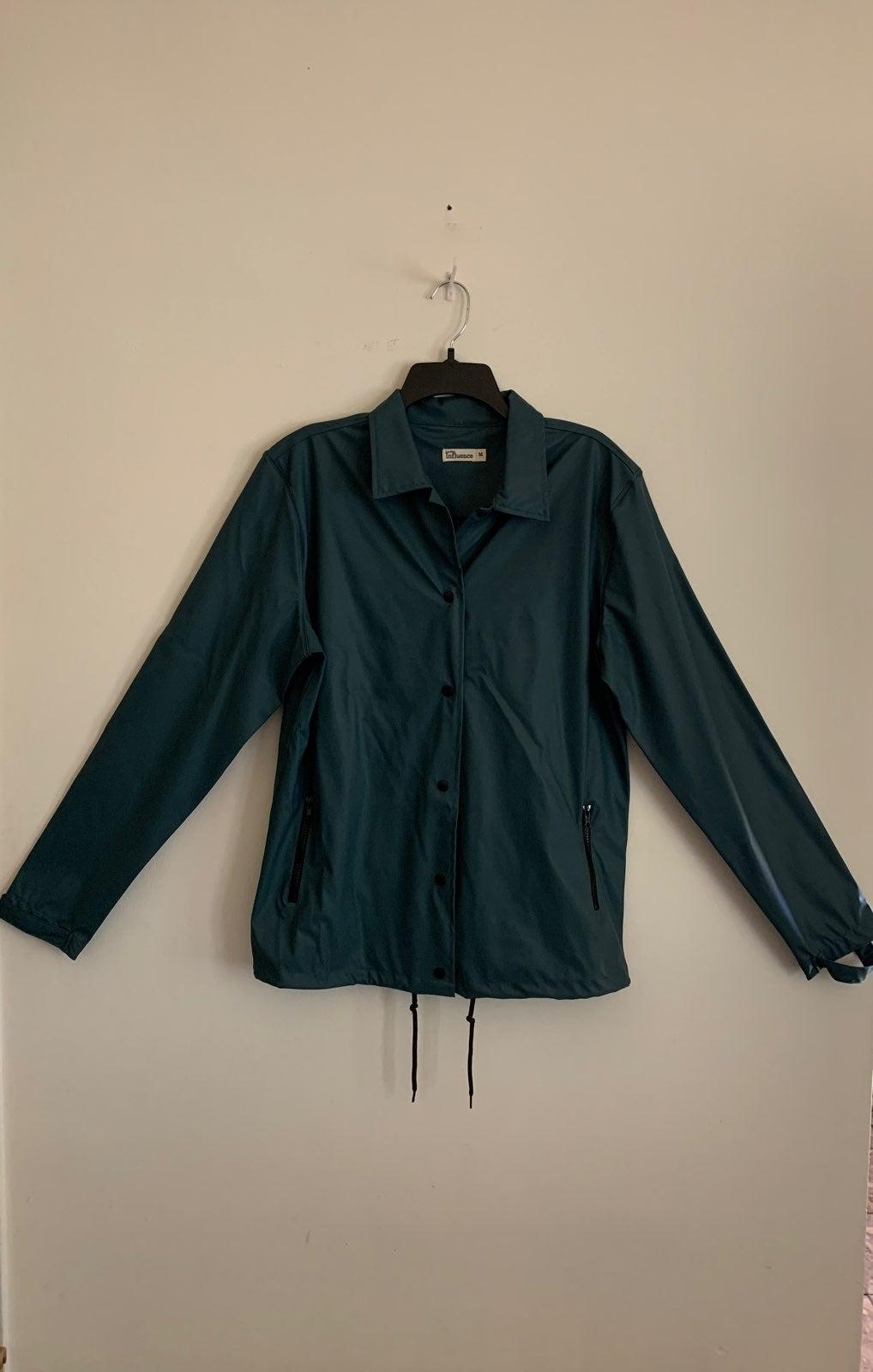 Waterproof contrast sleeve Jacket