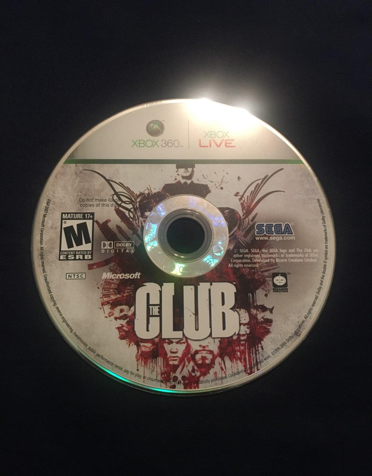 Xbox 360 The Club Game
