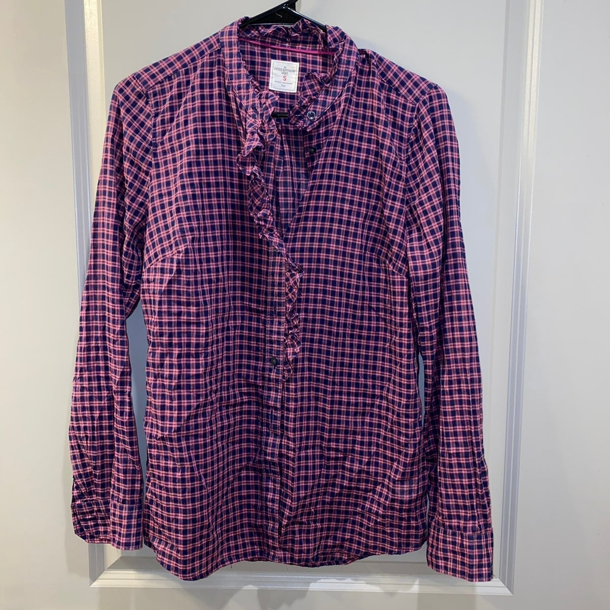 Fitted Flannel Style Top