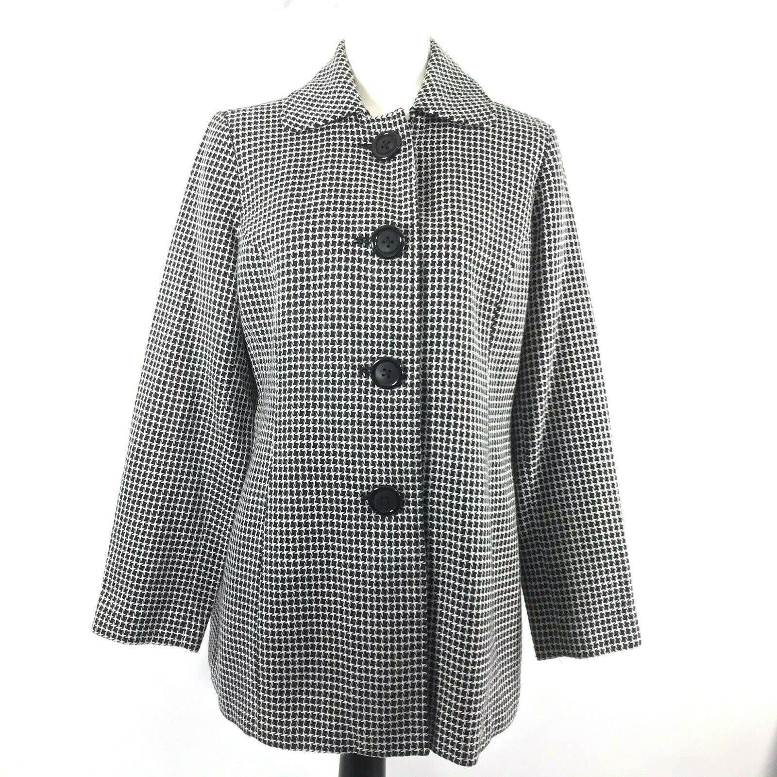 Briggs New York Sz 12 Wool Blend Jacket