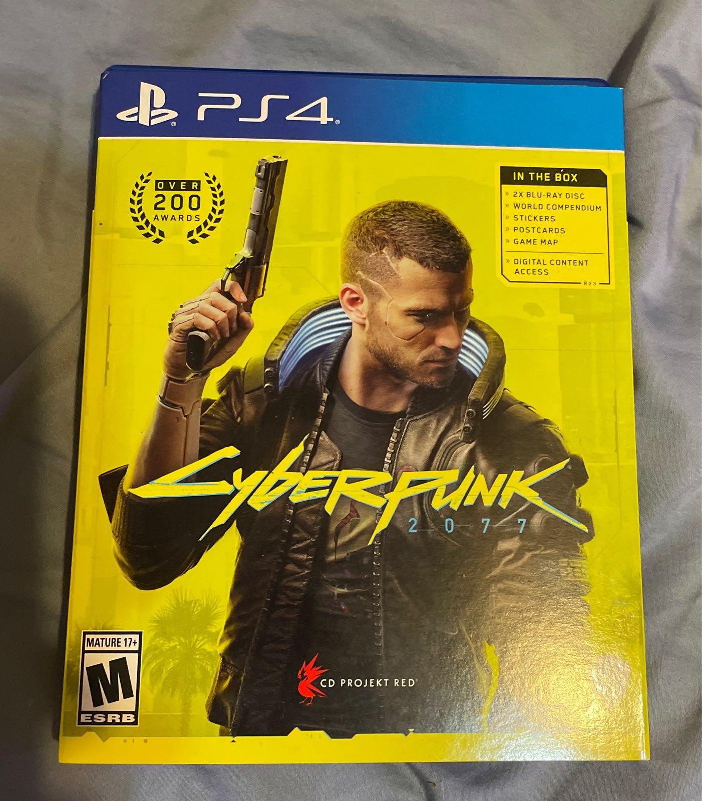 Cyberpunk 2077 on Playstation 4