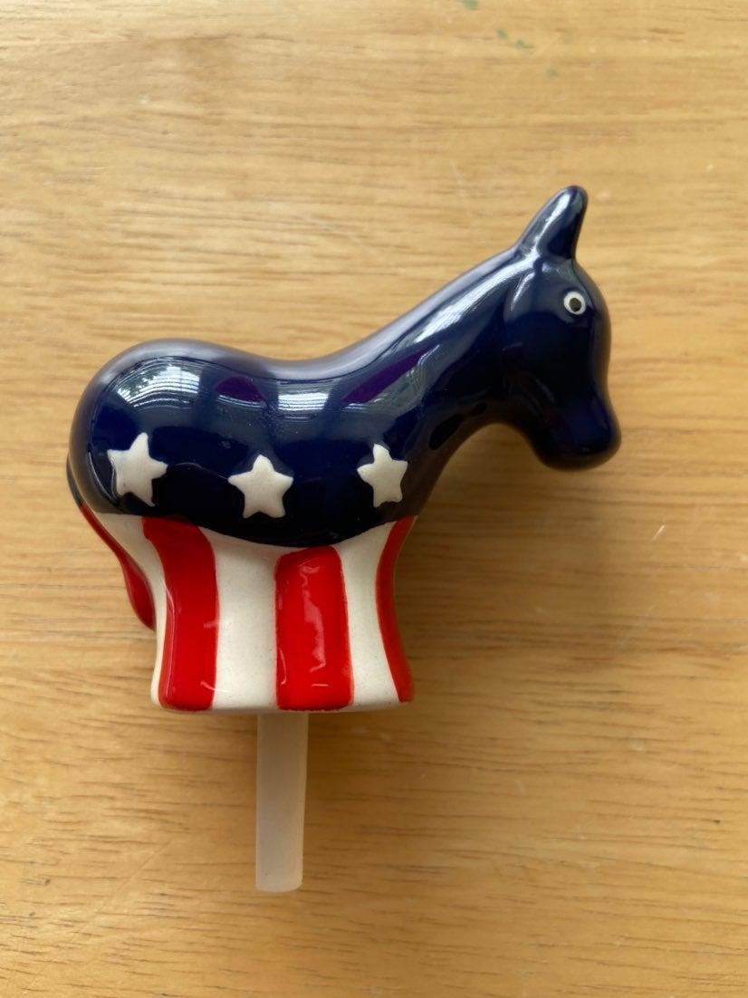 Nora Fleming Democratic Donkey Mini
