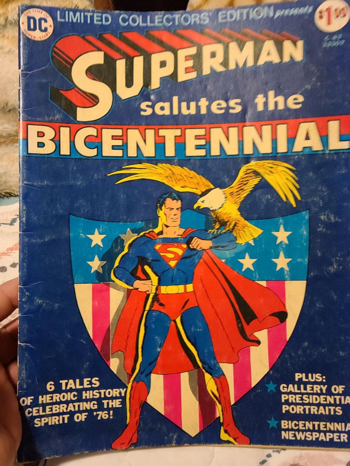 Superman bicentennial treasury edition c