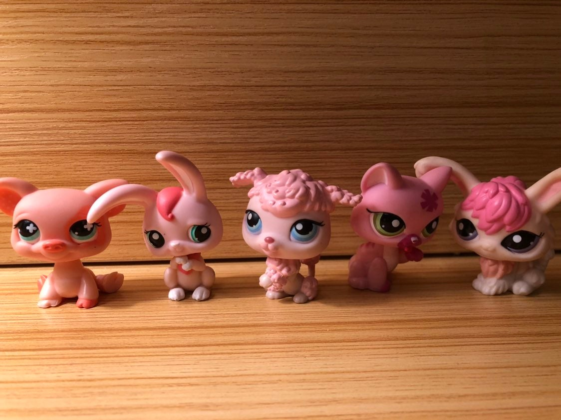 LPS pink lot