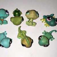 Littlest Pet Shop Lizard Mini Figures Mercari